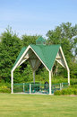 Picnic Shelter in Park Royalty Free Stock Photo