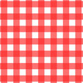 Picnic Tablecloth Pattern Stock Photos