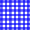 Picnic Tablecloth Pattern Blue Royalty Free Stock Photography