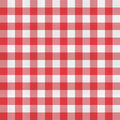 Picnic tablecloth pattern red checkered Stock Photos