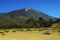 Pico del Teide Stock Photo