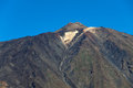 Pico del teide is a volcano on tenerife the canary islands spain Royalty Free Stock Image