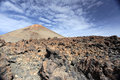 Pico del teide volcano the in tenerife canary islands spanish highest mountain Stock Photography