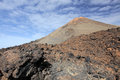 Pico del teide volcano the in tenerife canary islands spanish highest mountain Royalty Free Stock Image