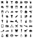 Pictograms Stock Photography