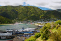 Picton harbour and marina south island new zealand Royalty Free Stock Images