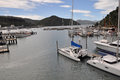Picton Marina, Marlborough, New Zealand Royalty Free Stock Images