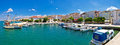 Pictoresque fishermen village of Pag panorama Royalty Free Stock Photo