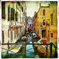 Pictorial  Venice Stock Images