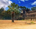 Picture of Angkor Wat Stock Photography