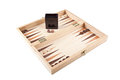 Picture backgammon game Royalty Free Stock Images