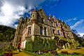 Picture of Belfast Castle in Northern Ireland. Stock Image
