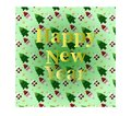 The card of Happy New Year