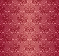 On a picture a damask seamless floral pattern is presented Royalty Free Stock Photos