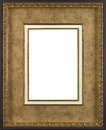 Picture frame gold art decore Royalty Free Stock Photos