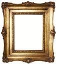 Obrázek rám zlato (cesta zahrnuty)