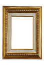 Picture frame isolated on white background Royalty Free Stock Photo