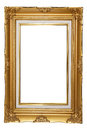 Picture frame isolated on white background Royalty Free Stock Image