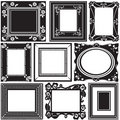 Picture frame vector Stock Photo