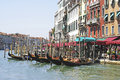 Picture grand canal venice Stock Images