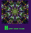 Picture for the holiday. ` Happy New Year!`..