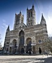 Picture of lincoln cathedral lincoln Royalty Free Stock Images