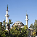 Picture old mosque minarets Royalty Free Stock Images