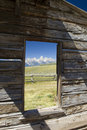 Picture Perfect Grand Tetons Royalty Free Stock Image