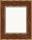 Picture or photo wooden frame Royalty Free Stock Image