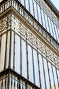 Traditional old bay window from Seville, Spain Royalty Free Stock Photo