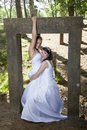 Picture Of Two Brides Under Co...
