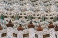 The day in bangkok, Thailand, Wat Arun Temple Royalty Free Stock Photo