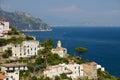 Picturesque Amalfi Coast Royalty Free Stock Photo