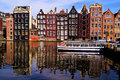 Picturesque Amsterdam Stock Photo