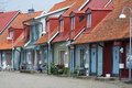 Picturesque colorful homes Royalty Free Stock Photo