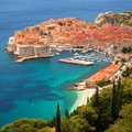 Picturesque gorgeous view on the old town of dubrovnik croatia in Royalty Free Stock Image