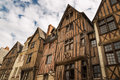 Picturesque half-timbered houses in Tours, France Royalty Free Stock Photo