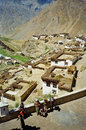 Picturesque himalayan village in spiti valley himachal pradesh india august india august is one of the most Stock Photos