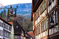Picturesque historic half-timbered town of Miltenberg, Germany Royalty Free Stock Photo