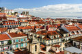 Picturesque Lisbon cityscape, Portugal Stock Images