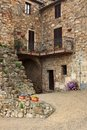 Picturesque nook of Tuscany Stock Image