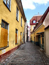 Picturesque old town - Tallinn in Estonia Stock Image