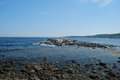 Picturesque Rocky Coastline Royalty Free Stock Photo
