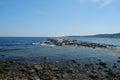 Picturesque Rocky Coastline Royalty Free Stock Photo