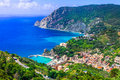 Picturesque scenery of Monterosso al mare Royalty Free Stock Photo