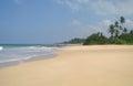 Picturesque tropical beach sri lanka Stock Photos