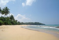 Picturesque tropical beach sri lanka Royalty Free Stock Images