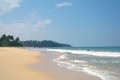 Picturesque tropical beach sri lanka Royalty Free Stock Photography