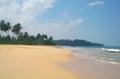Picturesque tropical beach sri lanka Royalty Free Stock Photos