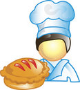 Pie maker Icon Royalty Free Stock Image